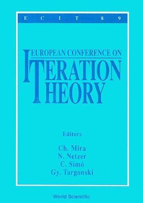 Iteration Theory: Conference Proceedings (Hardback)