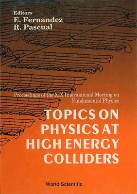 Topics On Physics At High Energy Colliders - Proceedings Of The Xix International Meeting On Fundamental Physics (Hardback)