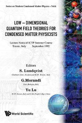 Low-dimensional Quantum Field Theories For Condensed Matter Physicists - Lecture Notes Of Ictp Summer Course - Series In Modern Condensed Matter Physics 6 (Hardback)