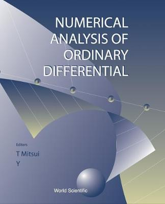 Numerical Analysis Of Ordinary Differential Equations And Its Applications (Hardback)