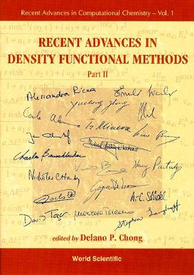 Recent Advances In Density Functional Methods, Part Ii - Recent Advances In Computational Chemistry 1 (Hardback)