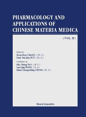 Pharmacology And Applications Of Chinese Materia Medica (Volume Ii) (Paperback)