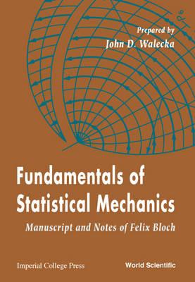 Fundamentals Of Statistical Mechanics: Manuscript And Notes Of Felix Bloch (Paperback)