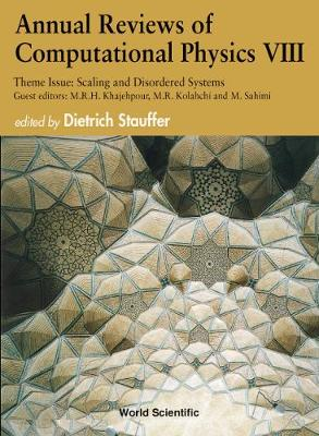 Annual Reviews Of Computational Physics Viii - Annual Reviews Of Computational Physics 8 (Hardback)