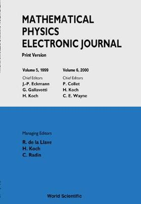 Mathematical Physics Electronic Journal - Print Version (Volumes 5 And 6) (Paperback)