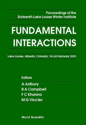 Fundamental Interactions - Proceedings Of The Sixteenth Lake Louise Winter Institute (Hardback)