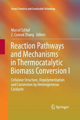 Reaction Pathways and Mechanisms in Thermocatalytic Biomass Conversion I: Cellulose Structure, Depolymerization and Conversion by Heterogeneous Catalysts - Green Chemistry and Sustainable Technology (Paperback)