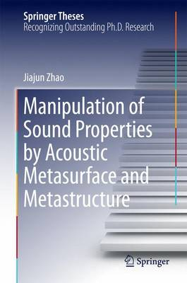 Manipulation of Sound Properties by Acoustic Metasurface and Metastructure - Springer Theses (Hardback)