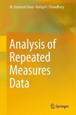 Analysis of Repeated Measures Data (Hardback)