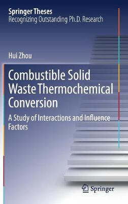Combustible Solid Waste Thermochemical Conversion: A Study of Interactions and Influence Factors - Springer Theses (Hardback)