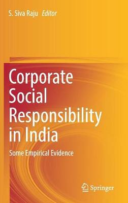 Corporate Social Responsibility in India: Some Empirical Evidence (Hardback)
