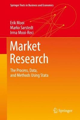Market Research: The Process, Data, and Methods Using Stata - Springer Texts in Business and Economics (Hardback)