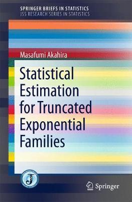 Statistical Estimation for Truncated Exponential Families - SpringerBriefs in Statistics (Paperback)