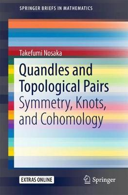 Quandles and Topological Pairs: Symmetry, Knots, and Cohomology - SpringerBriefs in Mathematics (Paperback)
