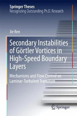 Secondary Instabilities of Goertler Vortices in High-Speed Boundary Layers: Mechanisms and Flow Control on Laminar-Turbulent Transition - Springer Theses (Hardback)