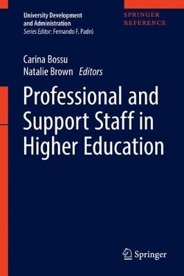Professional and Support Staff in Higher Education - University Development and Administration (Hardback)