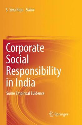 Corporate Social Responsibility in India: Some Empirical Evidence (Paperback)