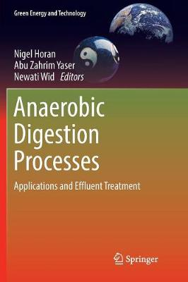 Anaerobic Digestion Processes: Applications and Effluent Treatment - Green Energy and Technology (Paperback)