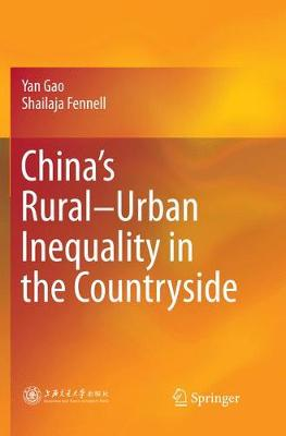 China's Rural-Urban Inequality in the Countryside (Paperback)