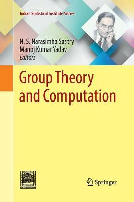 Group Theory and Computation - Indian Statistical Institute Series (Paperback)