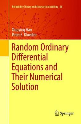Random Ordinary Differential Equations and Their Numerical Solution - Probability Theory and Stochastic Modelling 85 (Paperback)
