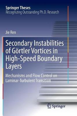 Secondary Instabilities of Goertler Vortices in High-Speed Boundary Layers: Mechanisms and Flow Control on Laminar-Turbulent Transition - Springer Theses (Paperback)