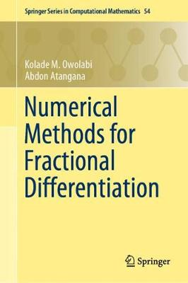 Numerical Methods for Fractional Differentiation - Springer Series in Computational Mathematics 54 (Hardback)