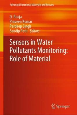 Sensors in Water Pollutants Monitoring: Role of Material - Advanced Functional Materials and Sensors (Hardback)