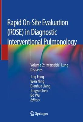 Rapid On-Site Evaluation (ROSE) in Diagnostic Interventional Pulmonology: Volume 2: Interstitial Lung Diseases (Hardback)