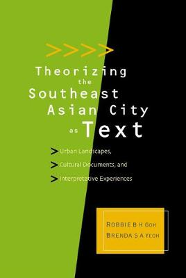 Theorizing The Southeast Asian City As Text: Urban Landscapes, Cultural Documents, And Interpretative Experiences (Hardback)