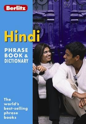 Berlitz: Hindi Phrase Book & Dictionary - Berlitz Phrasebooks (Paperback)