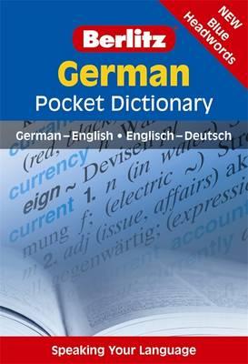 Berlitz Pocket Dictionary German - Berlitz Pocket Dictionary (Paperback)