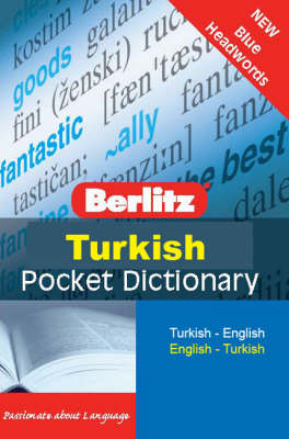 Berlitz Pocket Dictionary Turkish - Berlitz Pocket Dictionary (Paperback)