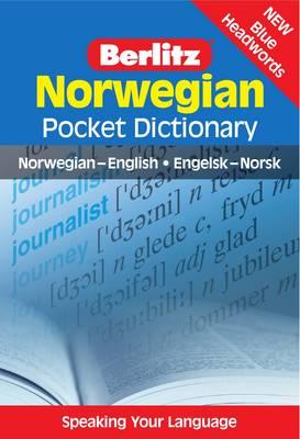 Berlitz Pocket Dictionary Norwegian - Berlitz Pocket Dictionary (Paperback)