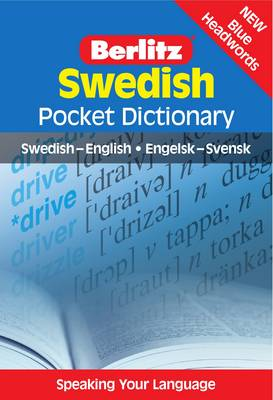 Berlitz: Swedish Pocket Dictionary - Berlitz Pocket Dictionary (Paperback)
