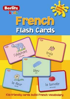 Berlitz Language: Flash Cards Kids French (Paperback)