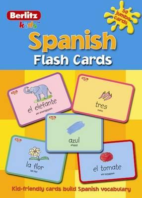 Berlitz Language: Flash Cards Spanish Kids (Paperback)