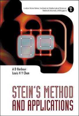 Stein's Method And Applications - Lecture Notes Series, Institute for Mathematical Sciences, National University of Singapore 5 (Hardback)