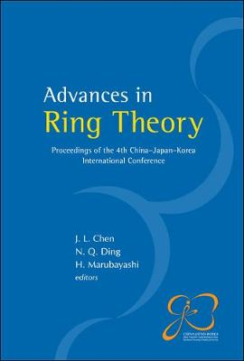 Advances In Ring Theory - Proceedings Of The 4th China-japan-korea International Conference (Hardback)