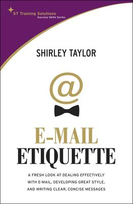 E-mail Etiquette (Paperback)