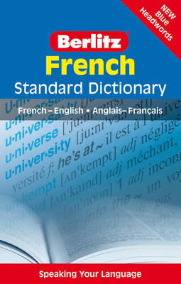 Berlitz Language: French Standard Dictionary - STANDARD DIC (Paperback)