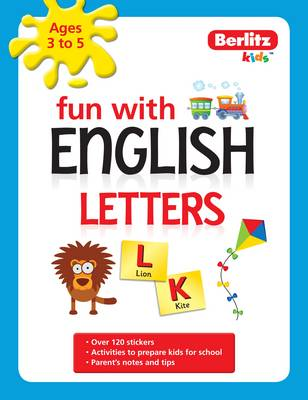 Berlitz Language: Fun with English: Letters (3-5 Yrs) - Fun with (Paperback)
