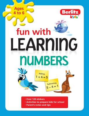 Berlitz Language: Fun with Learning: Numbers (4-6 Years) - Fun with (Paperback)
