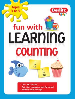 Berlitz Language: Fun with Learning: Counting (3-5 Years) - Fun with (Paperback)