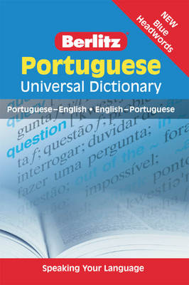 Berlitz Language: Portuguese Universal Dictionary - UNIVERSAL DIC (Paperback)