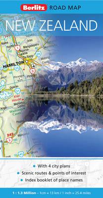 New Zealand Berlitz Road Map - Berlitz Road Maps (Sheet map, folded)