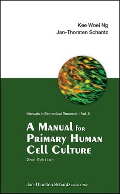 Manual For Primary Human Cell Culture, A (2nd Edition) - Manuals In Biomedical Research 6 (Paperback)