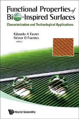 Functional Properties Of Bio-inspired Surfaces: Characterization And Technological Applications (Hardback)