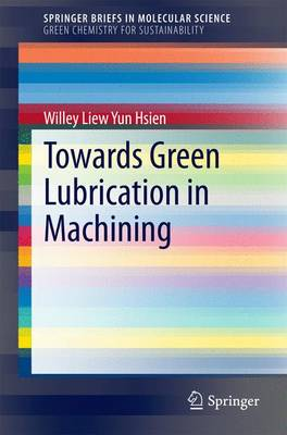 Towards Green Lubrication in Machining - SpringerBriefs in Green Chemistry for Sustainability (Paperback)