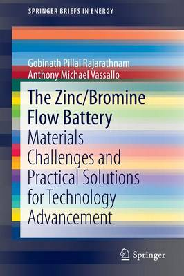 The Zinc/Bromine Flow Battery: Materials Challenges and Practical Solutions for Technology Advancement - SpringerBriefs in Energy (Paperback)